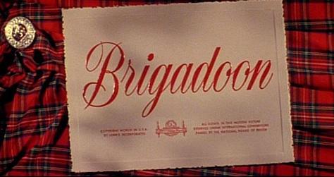Brigadoon Movie Title Card
