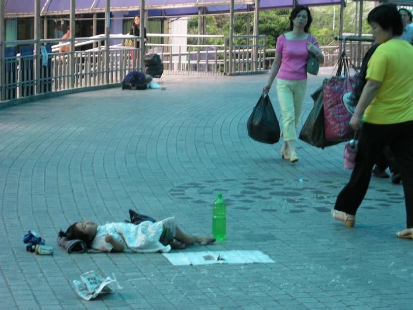 Baby girl left on sidewalk near Wal-Mart's 'world' HQ in ShenZhen China.