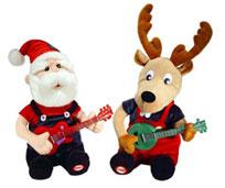 Duelin' Banjo Santa